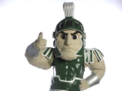 Michigan State University Mascot