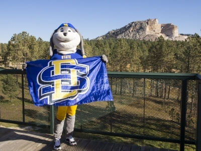 South Dakota State University Mascot