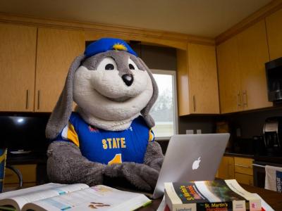 South Dakota State University Mascot