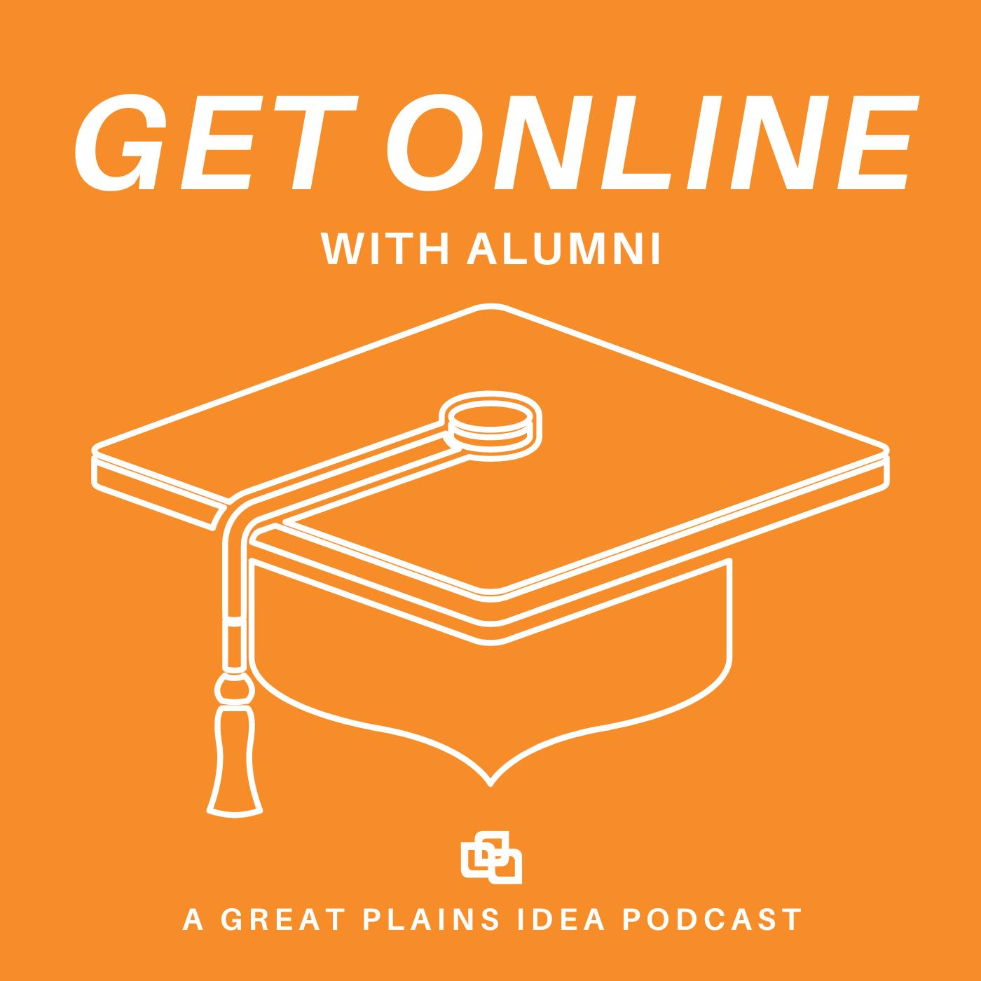 Get Online with Alumni Logo