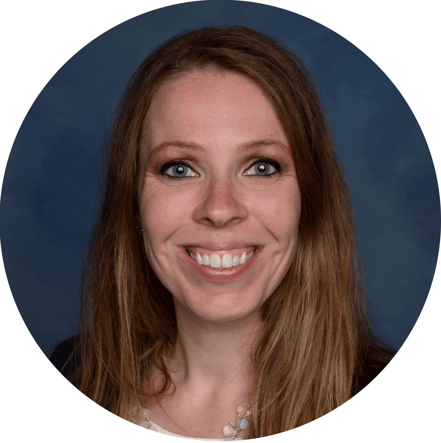 Sara Schoen smiling for formal headshot