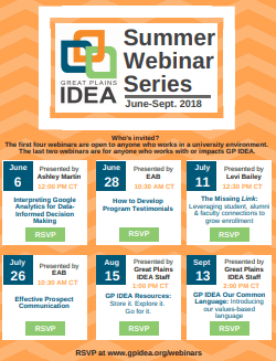 Small screenshot of the summer webinar series flyer that can be downloaded as a PDF
