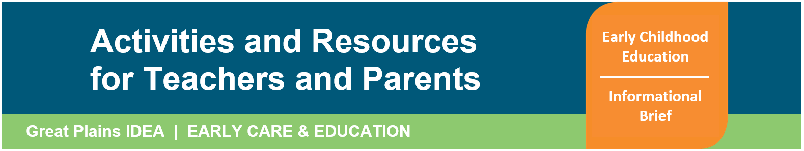 Header Activities and Resources for Teachers and Parents of Young Children